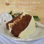 Chocolate Domingo Cake with Almond and Vanilla Buttercream | flourishandknot.com
