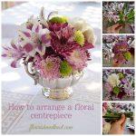 DIY floral centrepiece tutorial