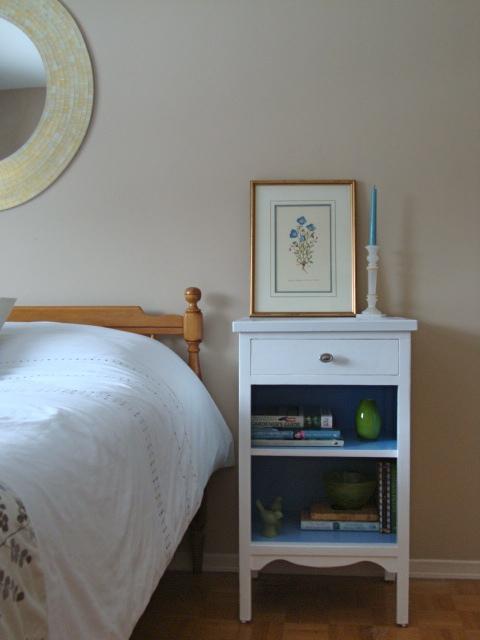 One nightstand…