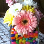 An Easter-themed floral arrangement | flourishandknot.com