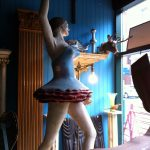 Antique ballerina figure in Quebec | flourishandknot.com