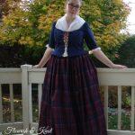 "My ""Outlander"" Claire Fraser Halloween costume | flourishandknot.com"