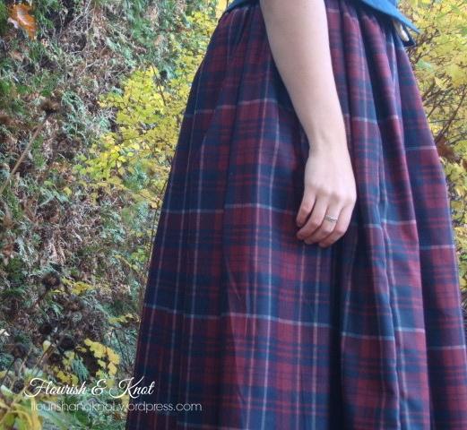 "My ""Outlander""-inspired Claire Fraser costume | Flourishandknot.com"