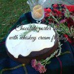 Chocolate porter cake with whiskey frosting   flourishandknot.com