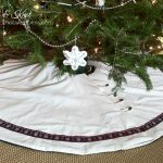 Craftvent Calendar #4: A simple Nordic tree skirt