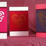 Make your own stencilled Valentine's Day cards | flourishandknot.com