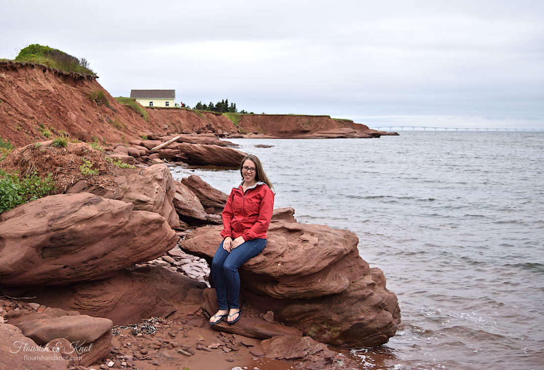 The beach at Chelton Provincial Park, PEI