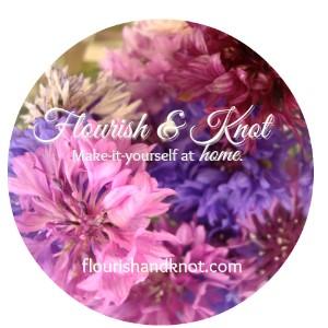 Flourish and knot round