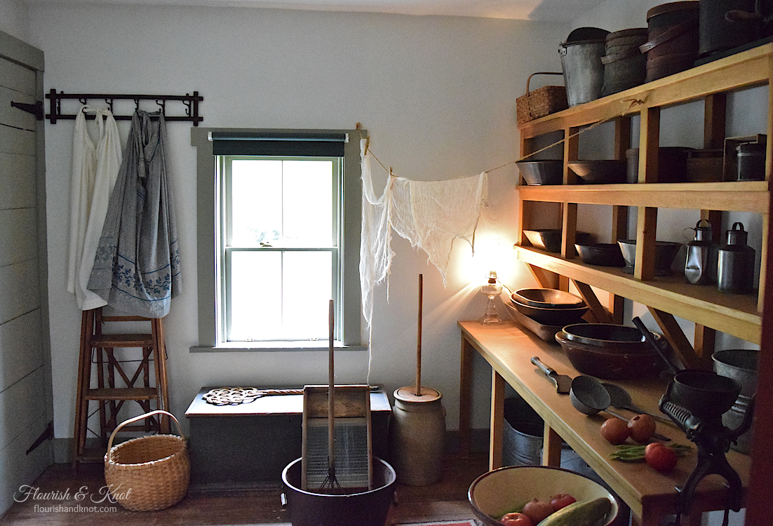 The kitchen at Green Gables Heritage Site, PEI