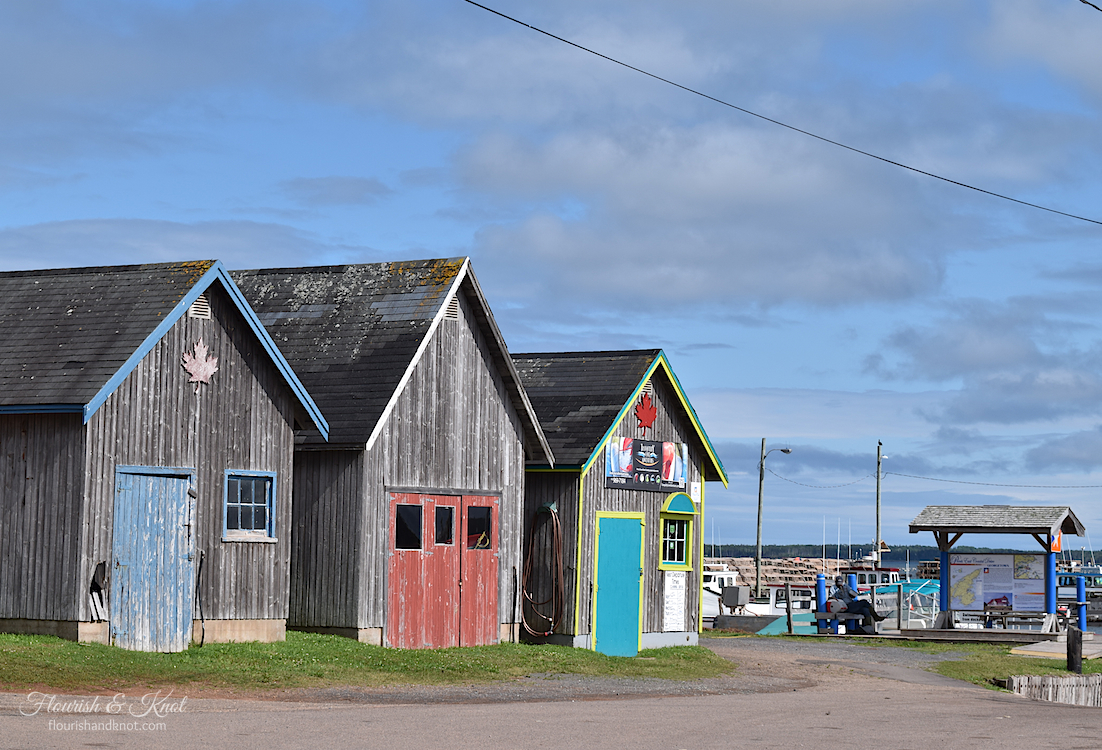 Lobster Sheds in Georgetown Harbour, PEI