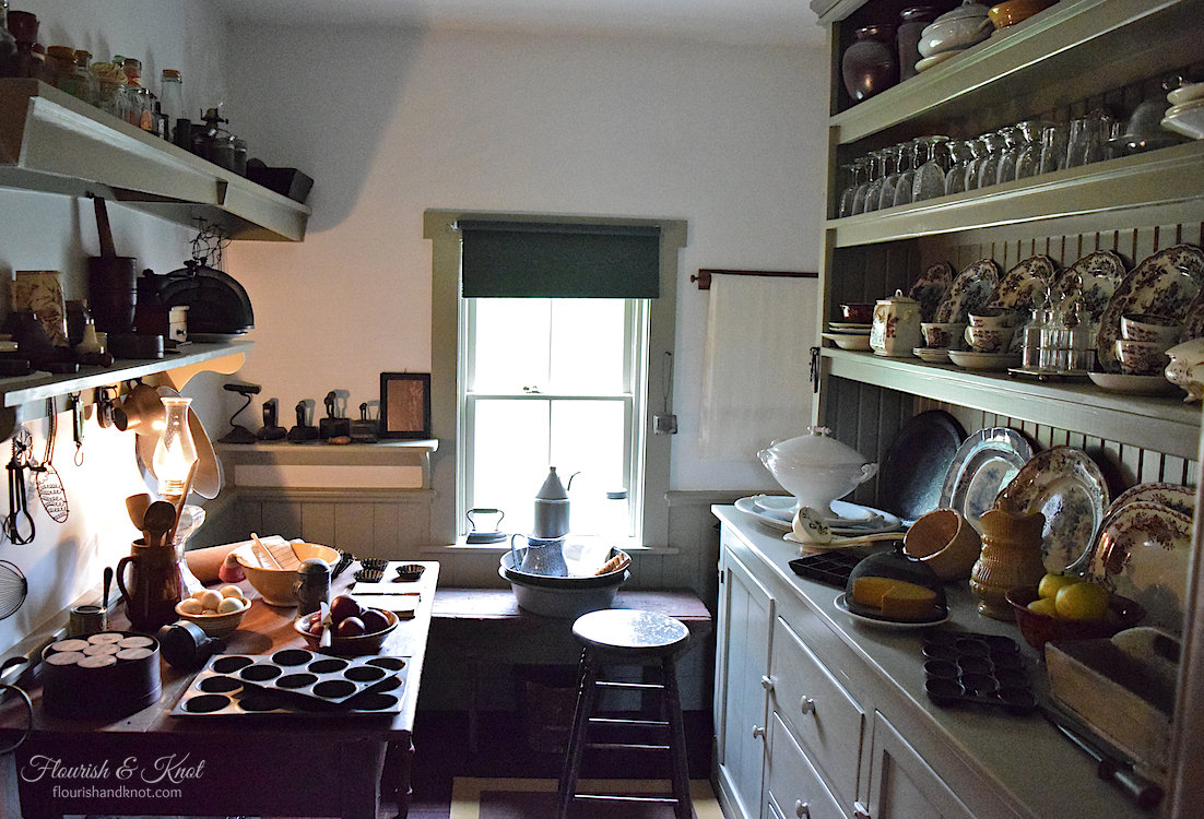 The pantry at Green Gables Heritage Site, PEI