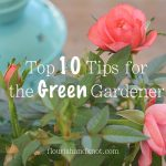 "Top 10 Tips for the ""Green"" Gardener 
