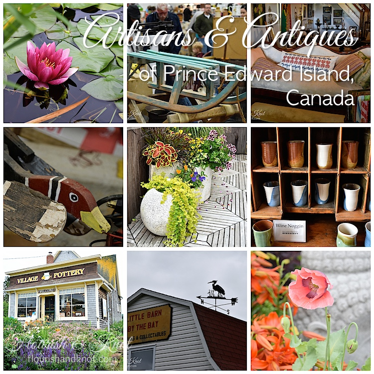 The artisans & antiques of Prince Edward Island, Canada | by flourishandknot.com