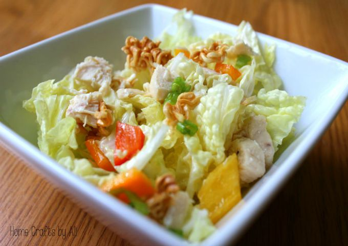 Chinese Chicken Salad close up – resized