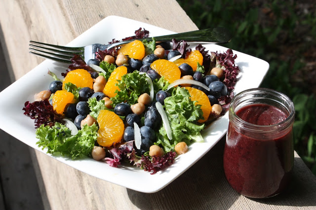 Blueberry and Mandarin Salad | by Best of Long Island and Central Florida