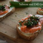 A dill-ightful menu | Salmon & Dill Gravlax