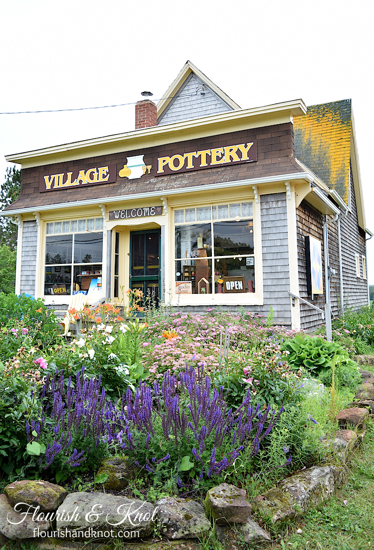 Village Pottery, New London, PEI