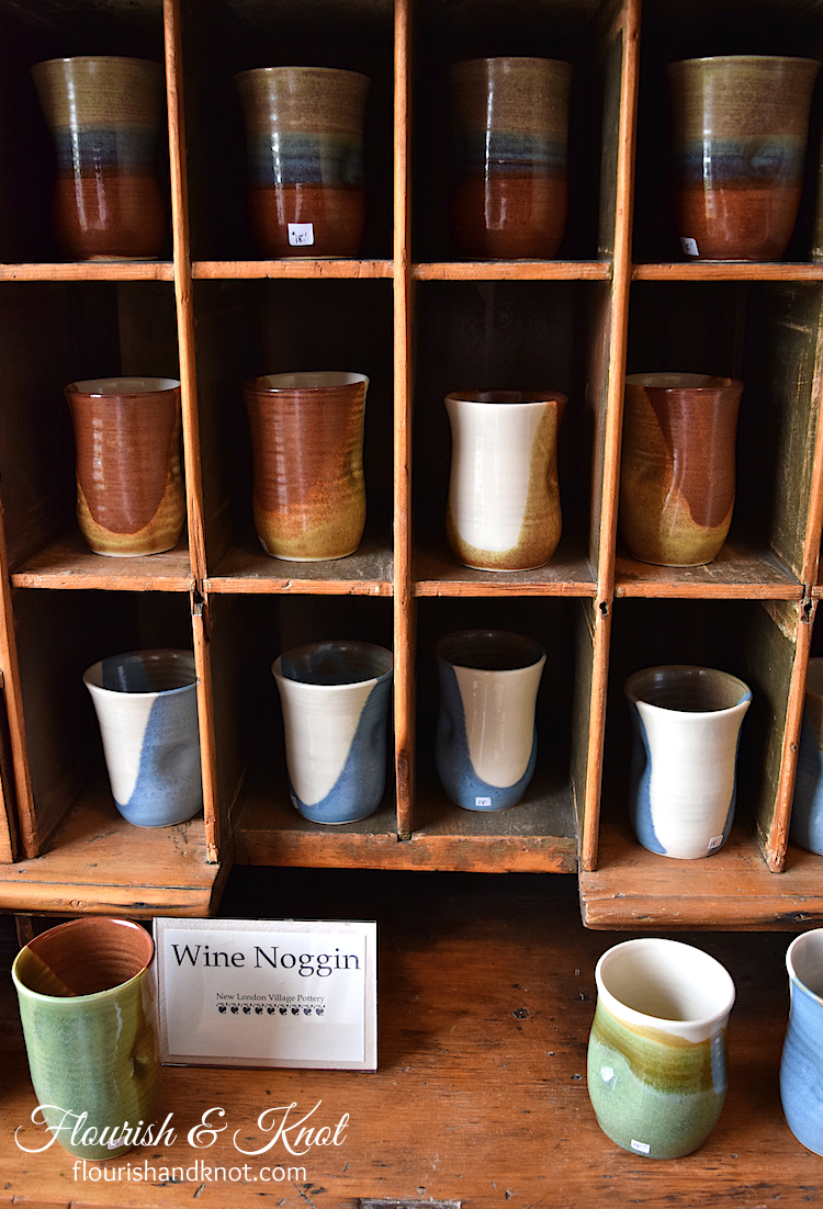 Wine Noggins Village Pottery, New London, PEI