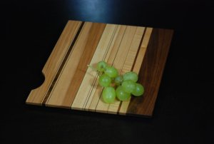 Cutting Board from Smoking Wood