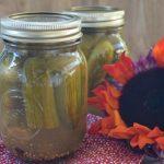Homemade dill pickles | flourishandknot.com