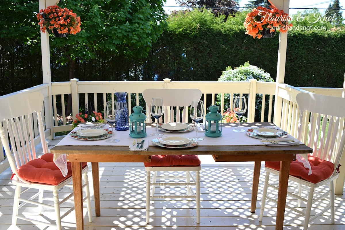 Stylish and summery deck-orating from Flourish & Knot