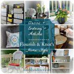 Classic, evolving, artistic home style | flourishandknot.com
