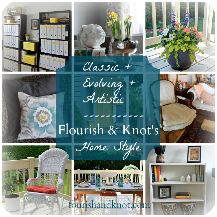 My Home Style Blog Hop | Classic + Evolving + Artistic