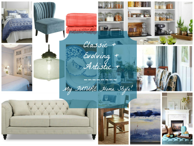 My ideal home style | flourishandknot.com
