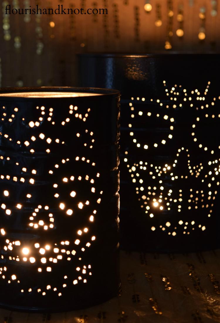 Calaveritas Luminaries Close-up