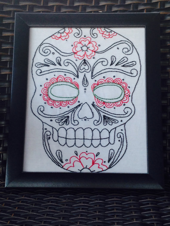 Day of the Dead Needlework