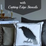 A Poe-etic Pillow | Create & Share with Cutting Edge Stencils