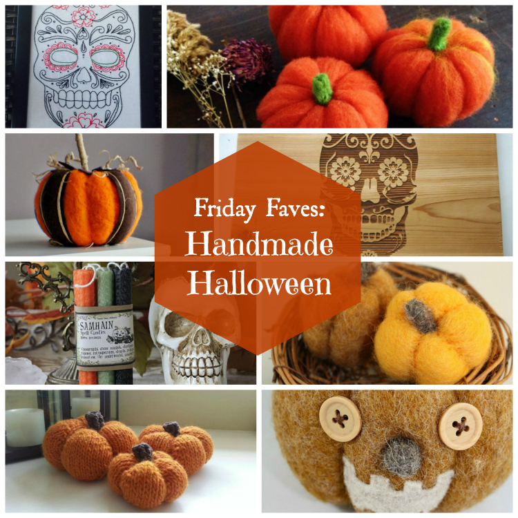 Friday Faves: Handmade Halloween