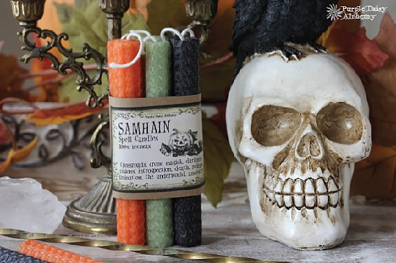 Samhain Candle Set
