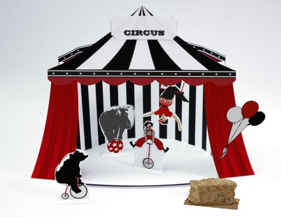 Printable Circus Set