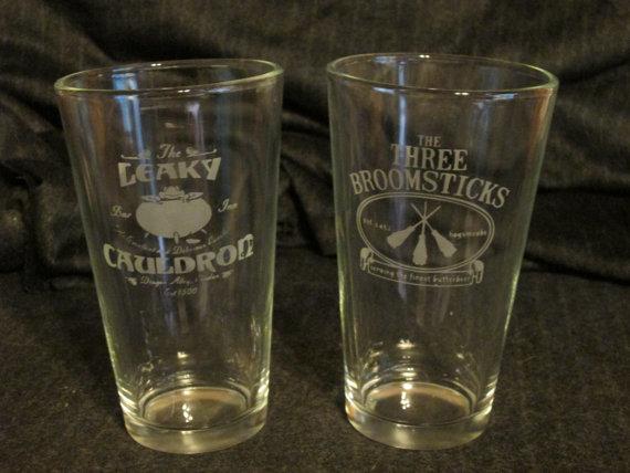 Leaky Cauldron:Three Broomsticks Glasses