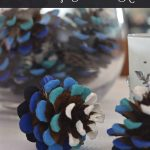 Ombré Pinecones | Home for Christmas Hop