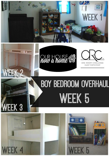 Big Boy Bedroom Makeover from Our House Now a Home