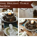 A Scottish Holiday Table | November Create & Share