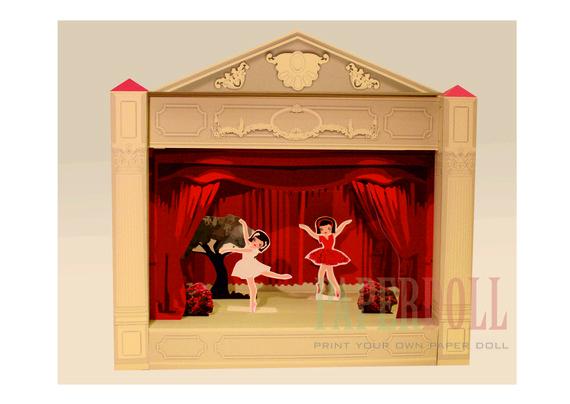 Printable Ballerina Set