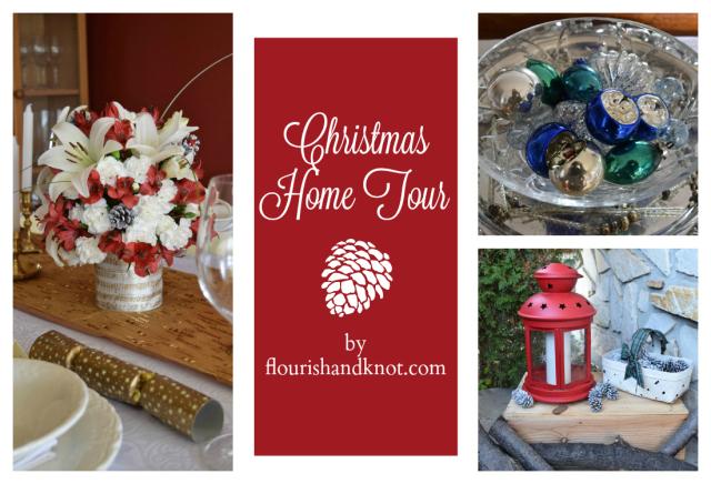 Flourish & Knot's 2015 Christmas Home Tour | flourishandknot.com