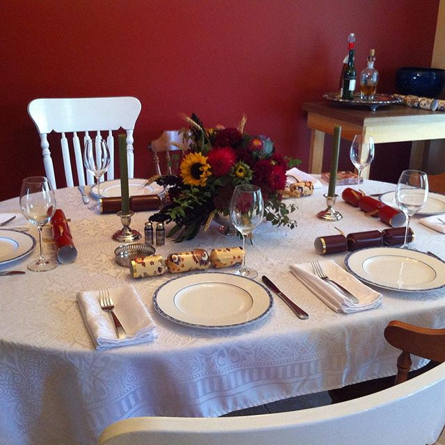 Happy #thanksgiving to my American friends! Since this week is our last #homeforthefallidays and also lands on #tbt I thought I'd share a pic of last year's (Canadian) thanksgiving table.  Here's how to join in the #homeforthefallidays fun! 1.Follow all of the hostesses 🍁@pocketposieswa🍁 🌰@erinejd🌰 🍃@ourhousenowahome🍃 🎃@shabbygraceblog 🎃 🍁@bbfarm40 🍁 🌰@flourishandknot🌰 🍃@domicile37🍃 🎃@greenwithdecor🎃 🍂@casawatkins 🍂 🍁@littlebitsofhomeblog🍁 🌰@uptodateinteriors 🌰 🍃@beauteefulliving 🍃 🎃@lehmanlane 🍂@refashionablylate🍂 🍁@uncookiecutter🍁 🌰@lesliethomas921 Please note that only participants who fallow ALL of the hostesses are eligible to win!! 2. Check out each week's new theme on Tuesdays. 3. You will have till from Tuesday to  Friday at 8pm EST to post your #homeforthefallidays pictures. Then on Friday We will pick our favorite and share it across all 16 of our Instagram accounts!