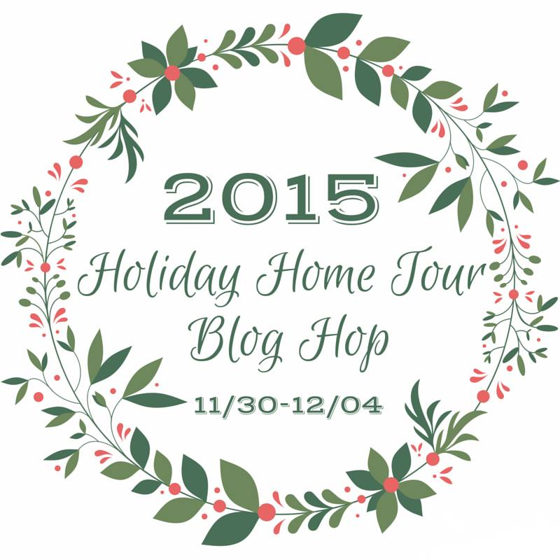 Holiday Home Tour Blog Hop | flourishandknot.com