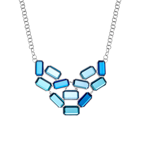 Kelly blue necklace