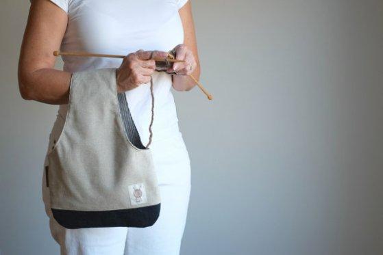 Knitting Bag Wristlet