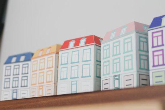 Paper Quebec Houses
