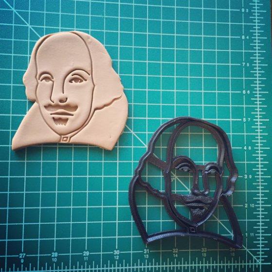 William Shakespeare Cookie