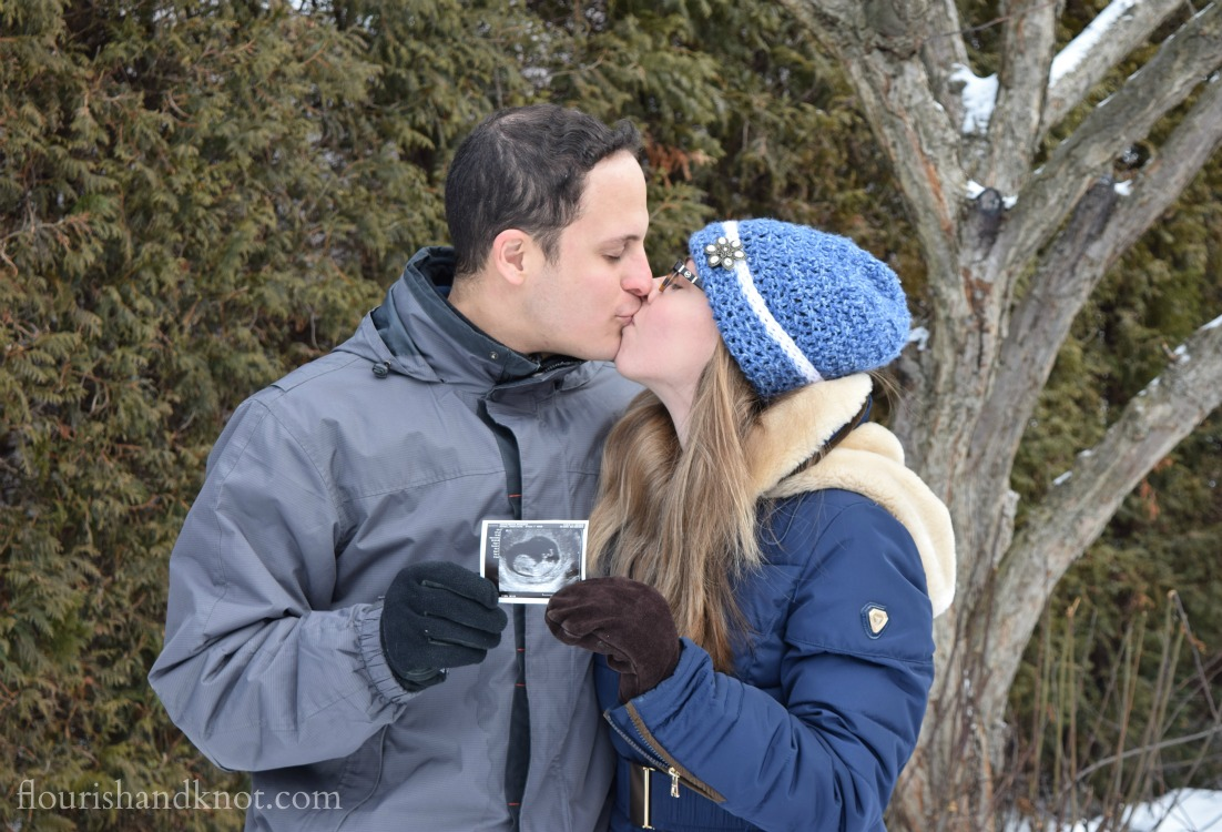 Winter Baby Announcement!