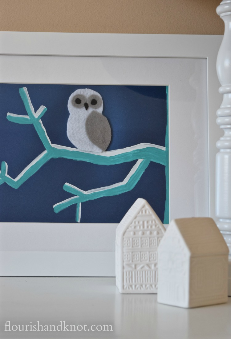 Whimsical owl art inspired by a Graphic Stock image   Create & Share Challenge