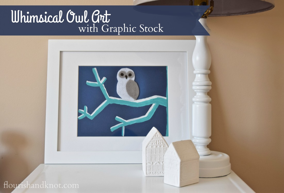 Whimsical owl art inspired by a Graphic Stock image | Create & Share Challenge
