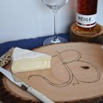 Monogrammed Cheese Board with Walnut Hollow